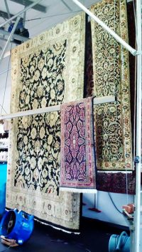 Area Rug Cleaning Wool Persian Steam Sweepers