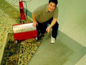 dusting rugs