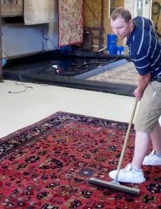rug grooming
