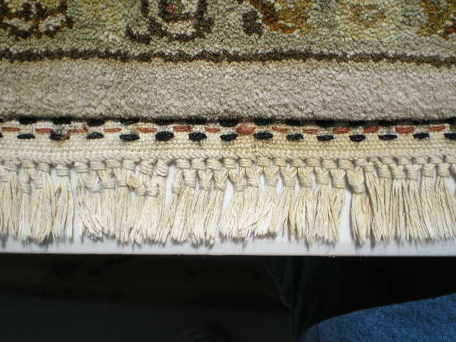 Rug cleaning process for fine Oriental wool and silk ...