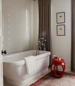 Oriental Rugs in Bathrooms